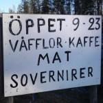 Gävle till Kiruna