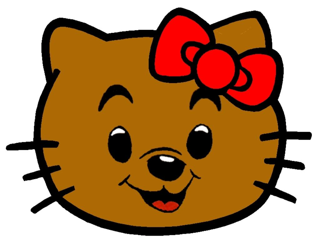 Hello Kitty som Bamse
