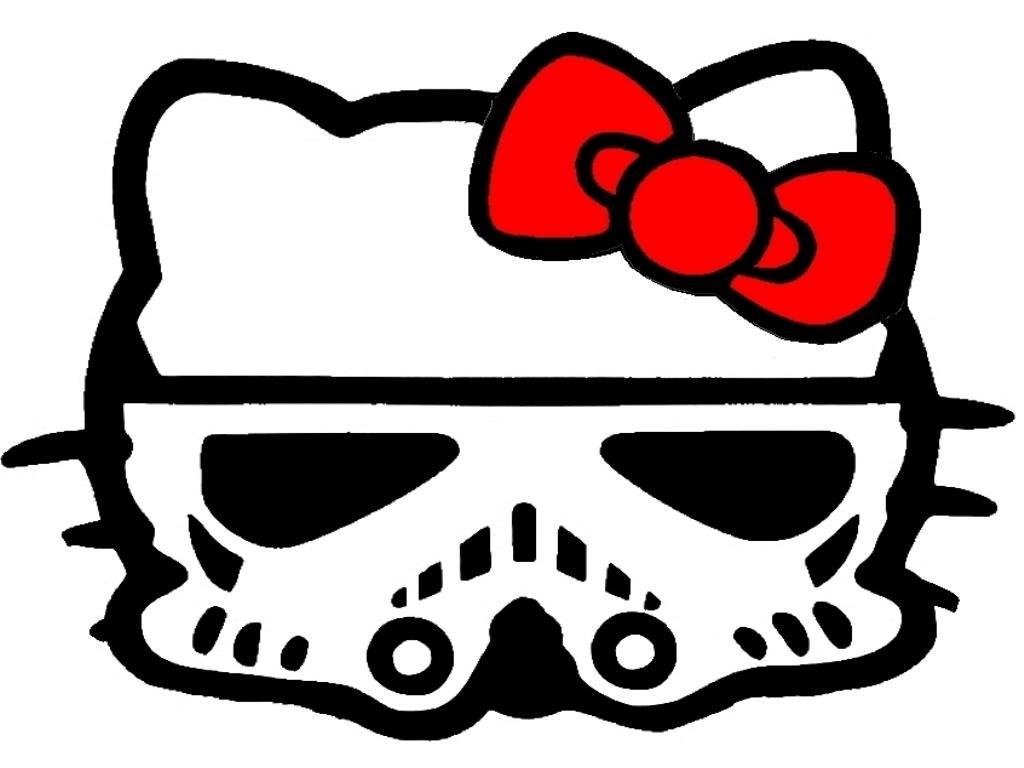 Hello Kitty som Stormtrooper