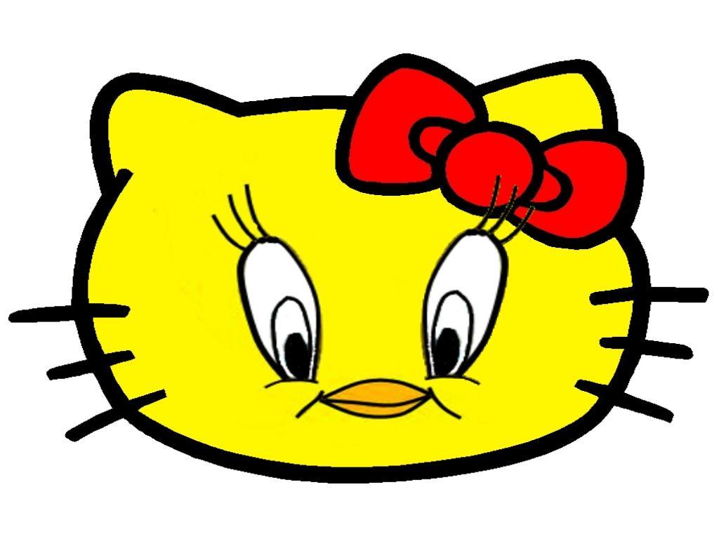 Hello Kitty som Tweety