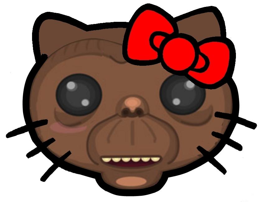 Hello Kitty som E.T.
