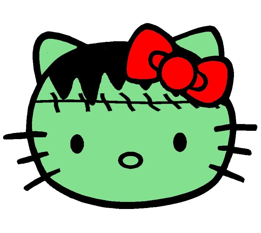 Hello Kitty som Frankensteins Monster