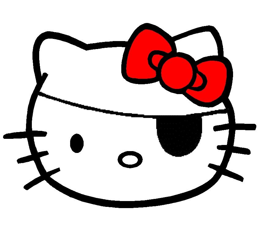 Hello Kitty som Pirat