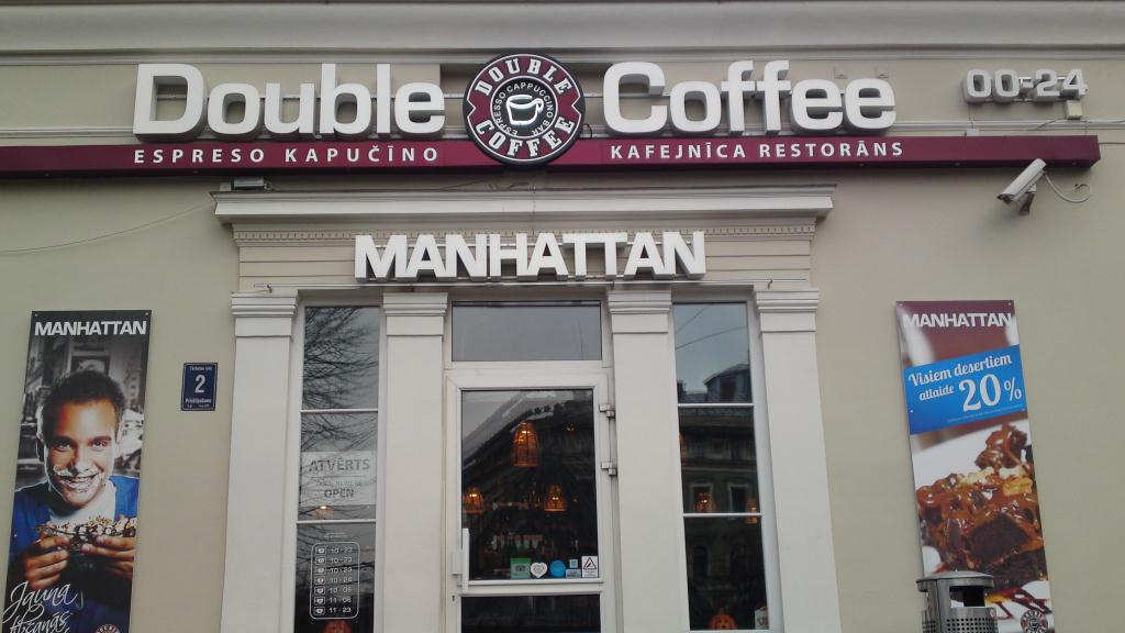 Double Coffee Manhattan - Riga