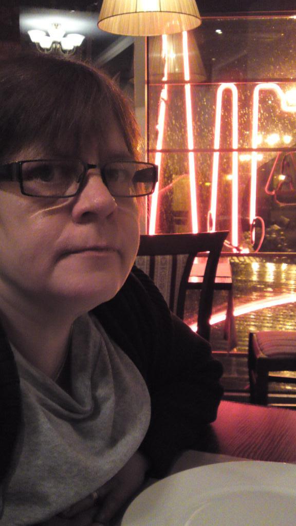 Anne Catrine på Indian Raja - Riga