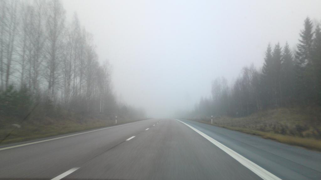 Vägen mellan Gävle och Stockholm