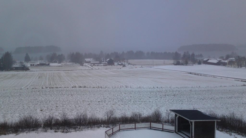 Utsikt från Kungshaga Hotell - Orsa