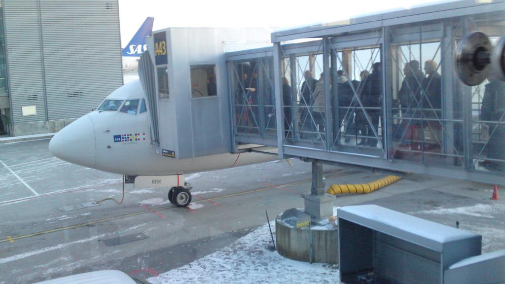 Flyget från Gardermoen