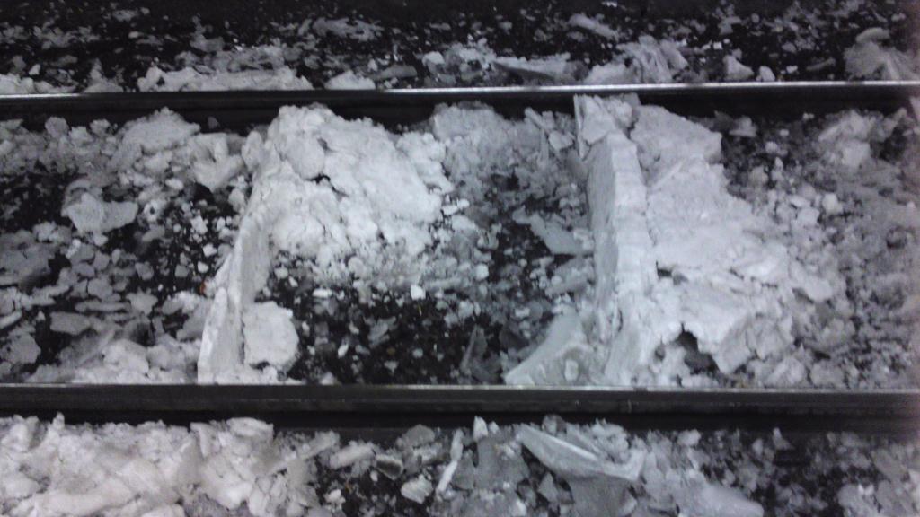 Spåren inne på centralstationen