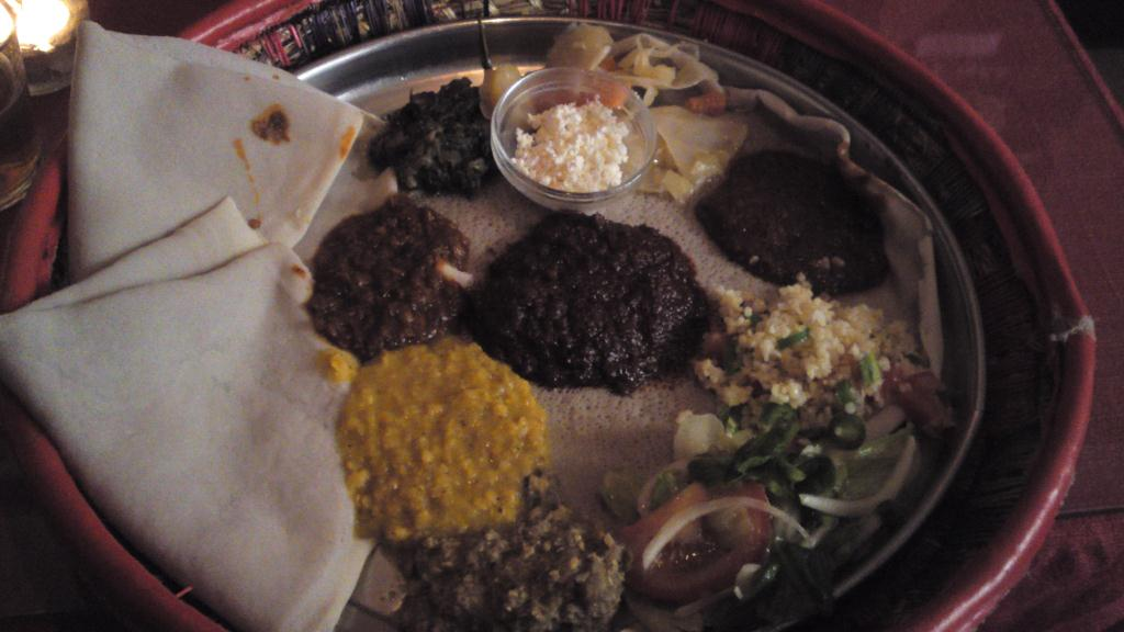 Etiopisk festmåltid