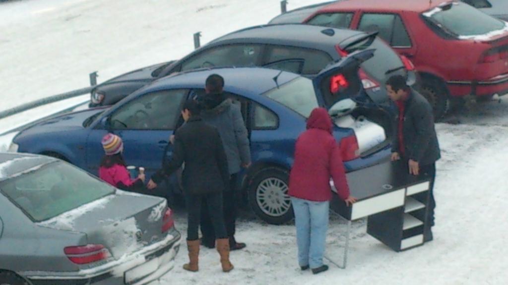 Problem att få in bordet i bilen, Ikea Valbo