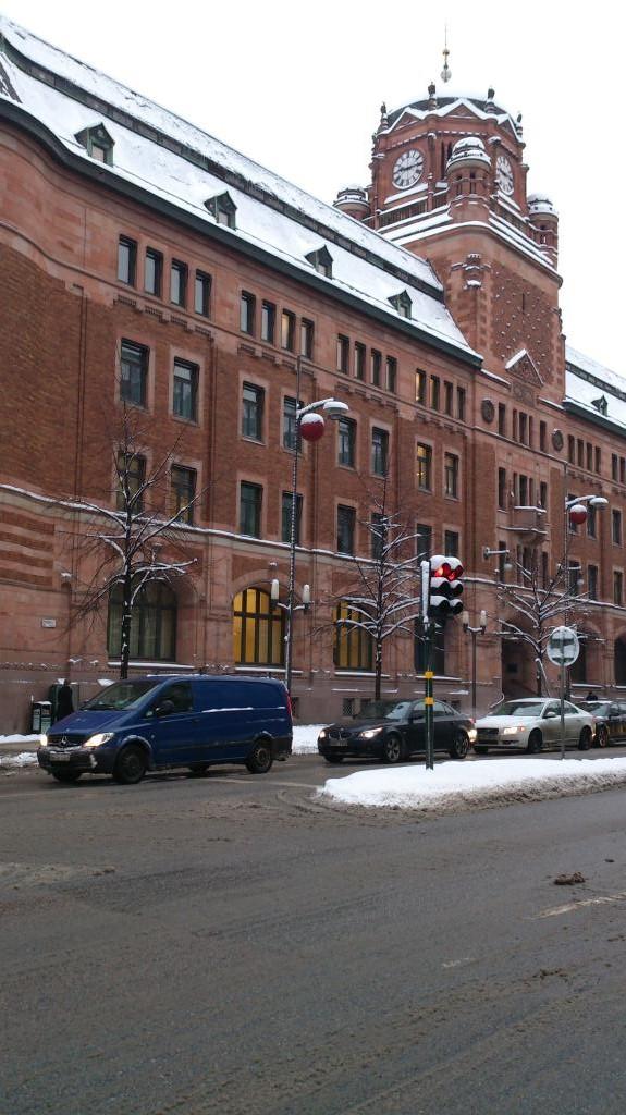 Centralposthuset, Stockholm, Kvarteret Blåmannen 21