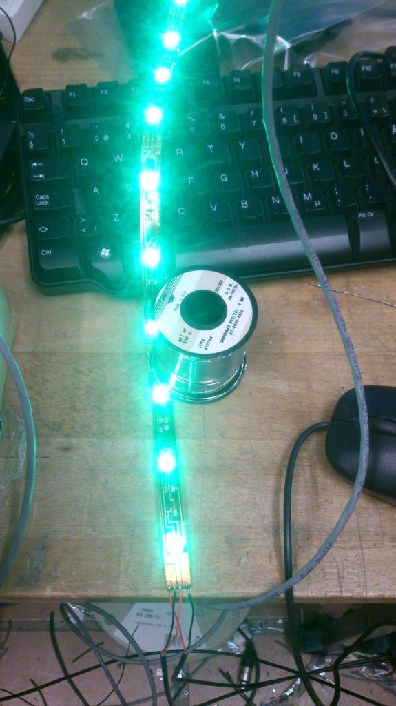 Pixelstyrd RGB LED Tejp