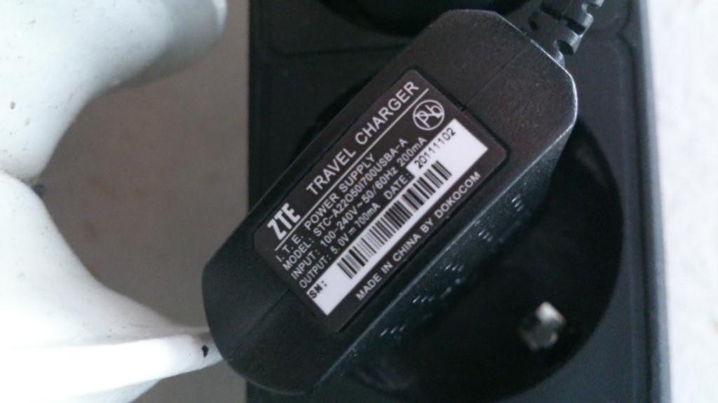 USB laddare till telefonen