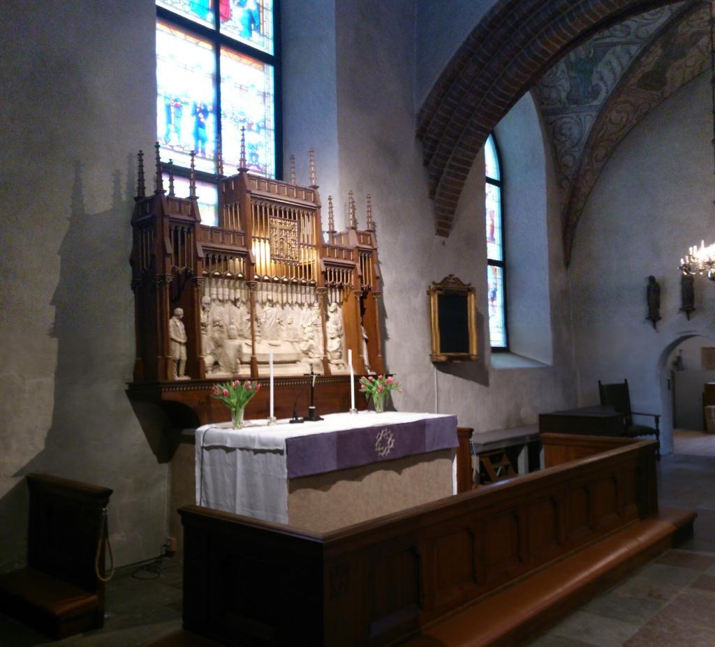 Helga Trefaldighet kyrka - Altaret