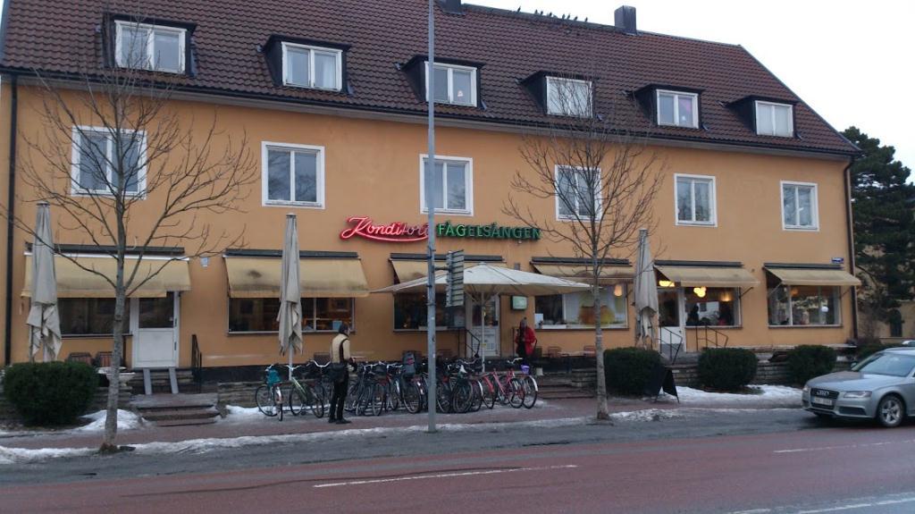 Konditori Fågelsången i Uppsala