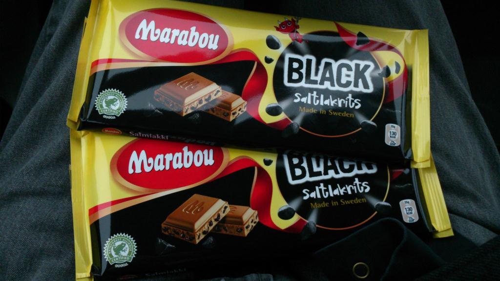 Marabou, Black - Salt Lakrits