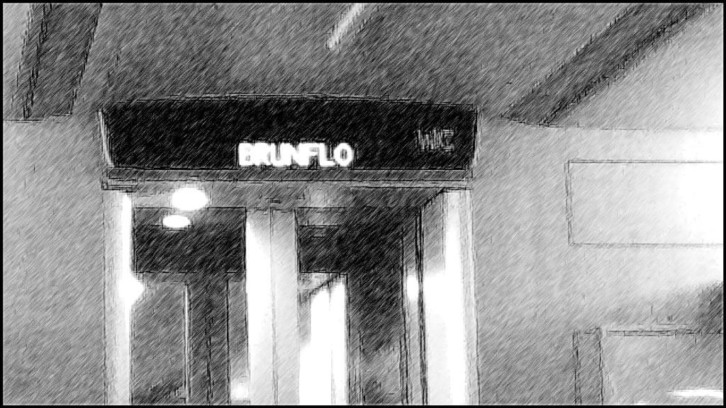Norrtåg, passerade Brunflo i Jämtland