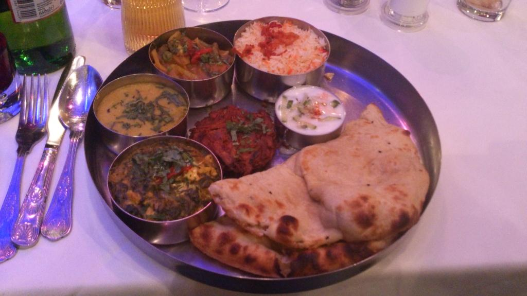 Indisk mat - The Ganges Paddington