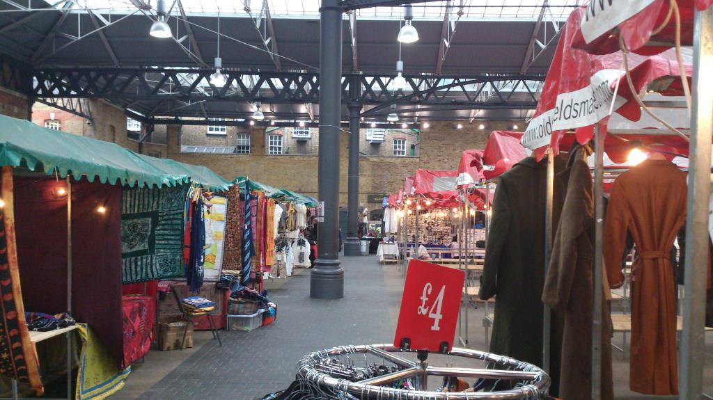 Spitalfields market - London