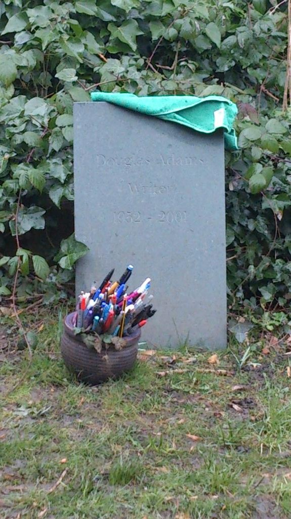 Douglas Adams - Highgate Cemetery East