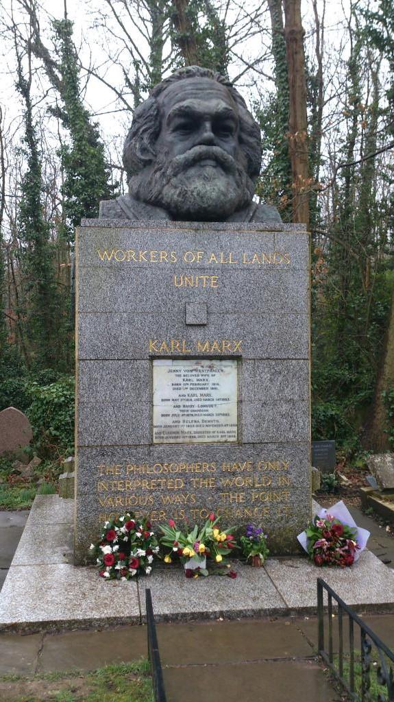 Highgate Cemetery - East, Karl Marx