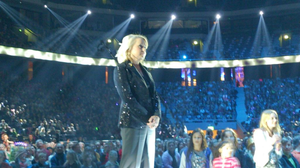 Melodifestivalen 2013 - Louise Hoffsten