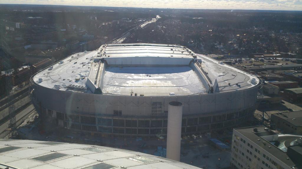 SkyView - Globen, Tele2 Arena