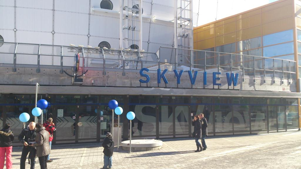 SkyView - Globen, Stockholm