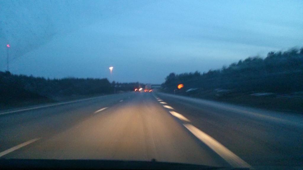 På väg söderut mot Skåneland