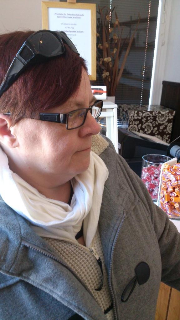 Älskade hustrun på Österlenchoklad i Skånes Tranås