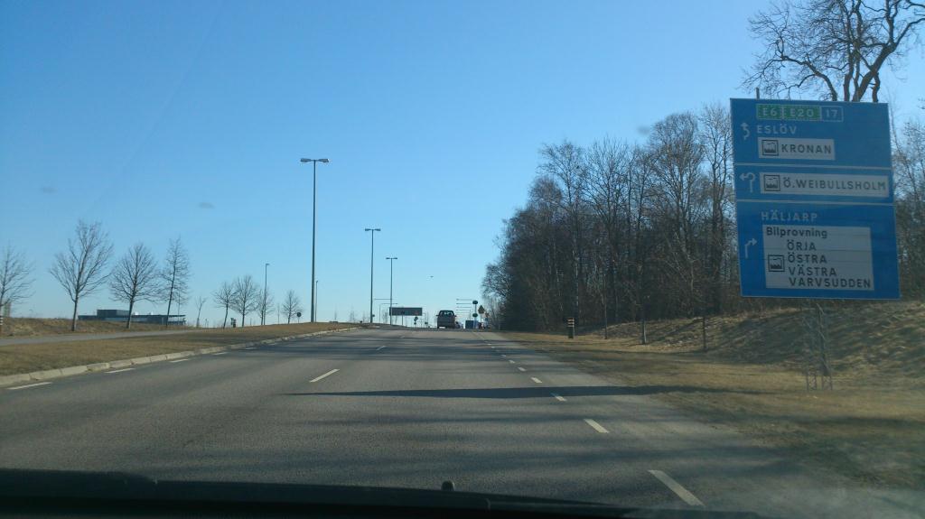 Utfart från Landskrona