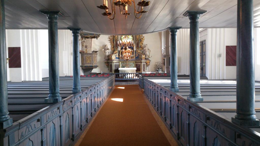 Under orgelläktaren, Börstil kyrka