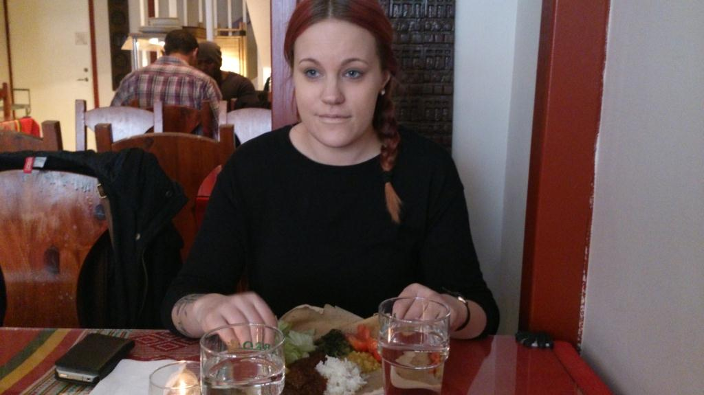 Frida på Abyssinia, Stockholm