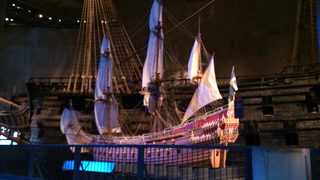 Modell av Regalskeppet Vasa - Vasamuseet Stockholm