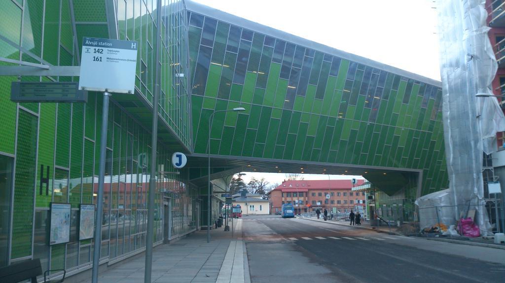 Stationen Älvsjö