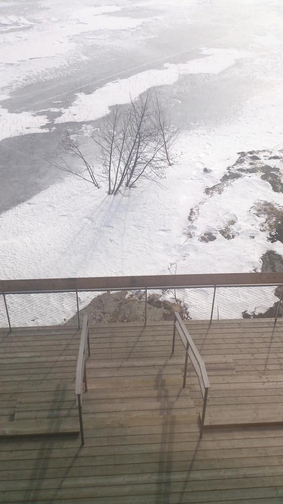 Is vid Läckö