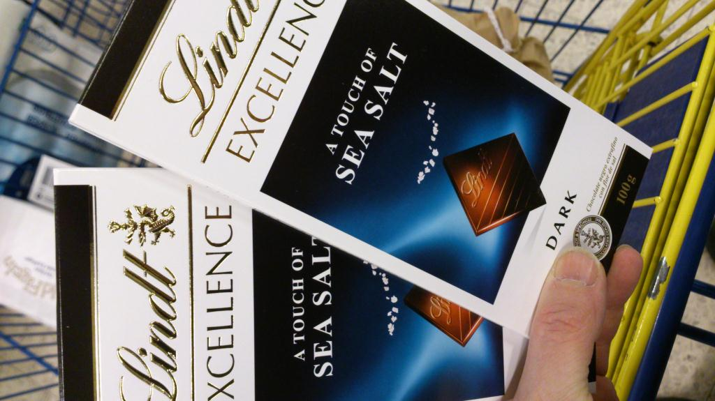 Lindt - Excellence Sea Salt