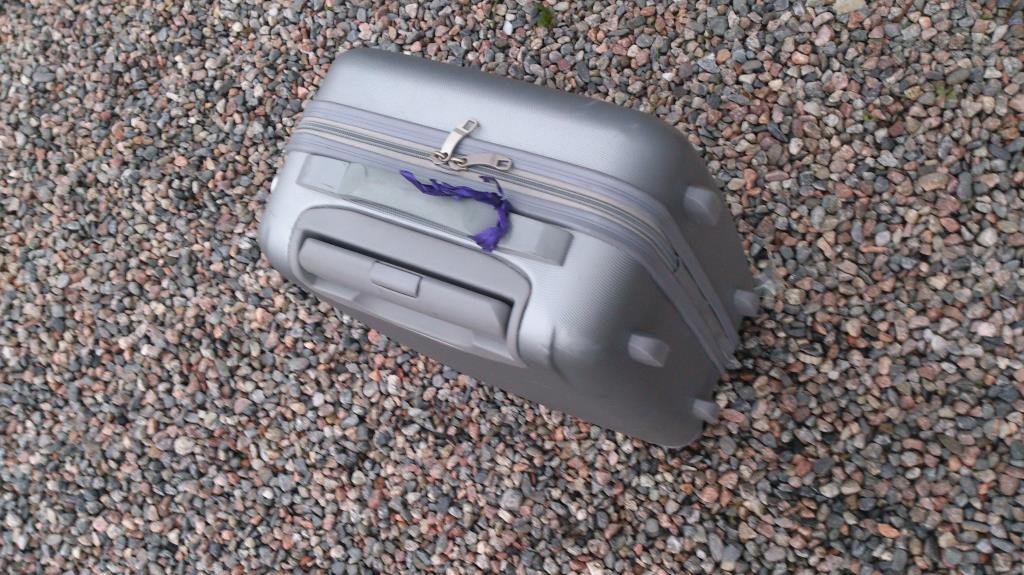 Resekamrat i form av min väska