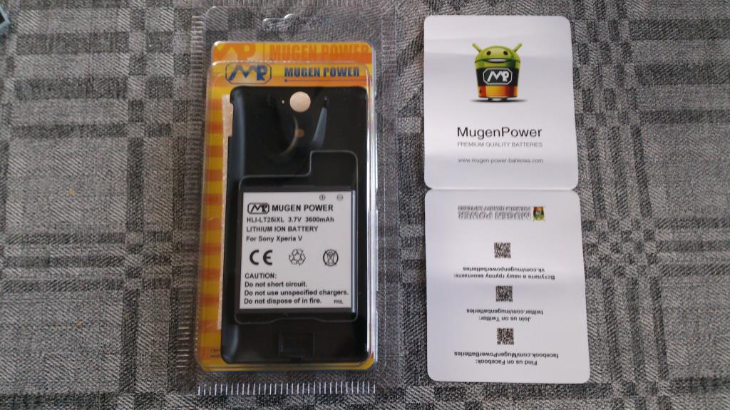 Mugen-Power Batteries Xperia V 3600mAh