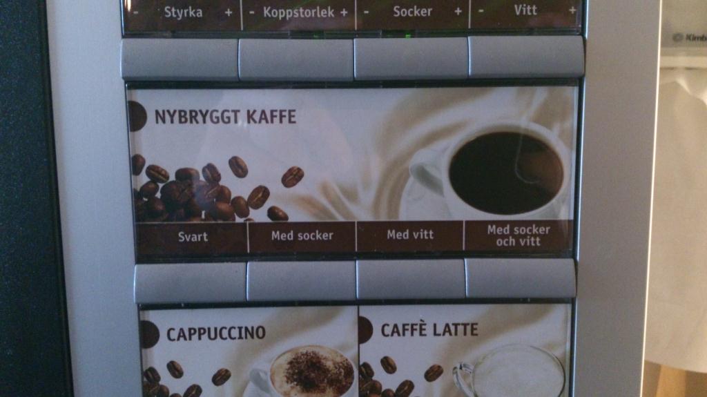 Kaffe med Vitt