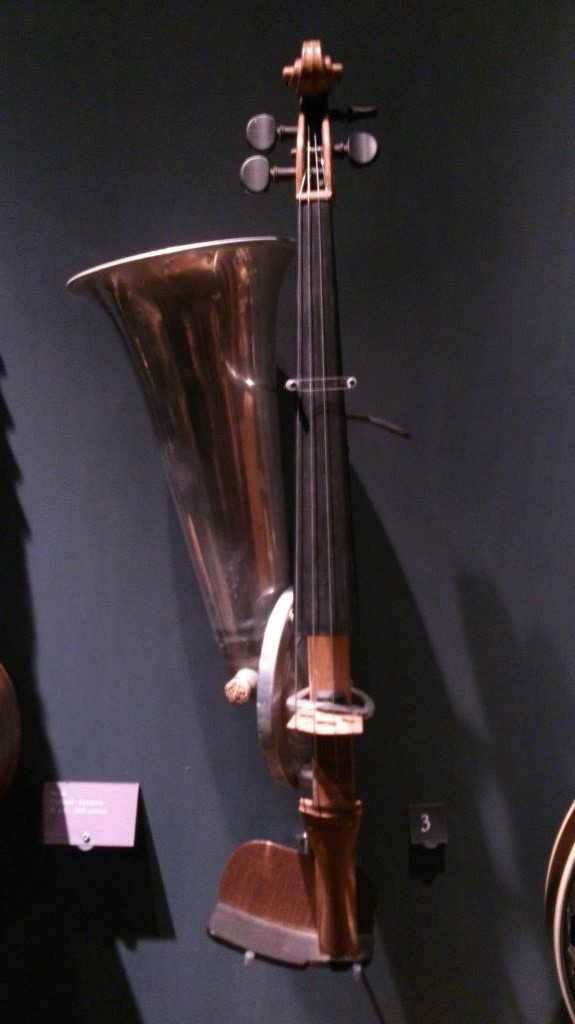 Stroh Violin, Tyskland ca 1900