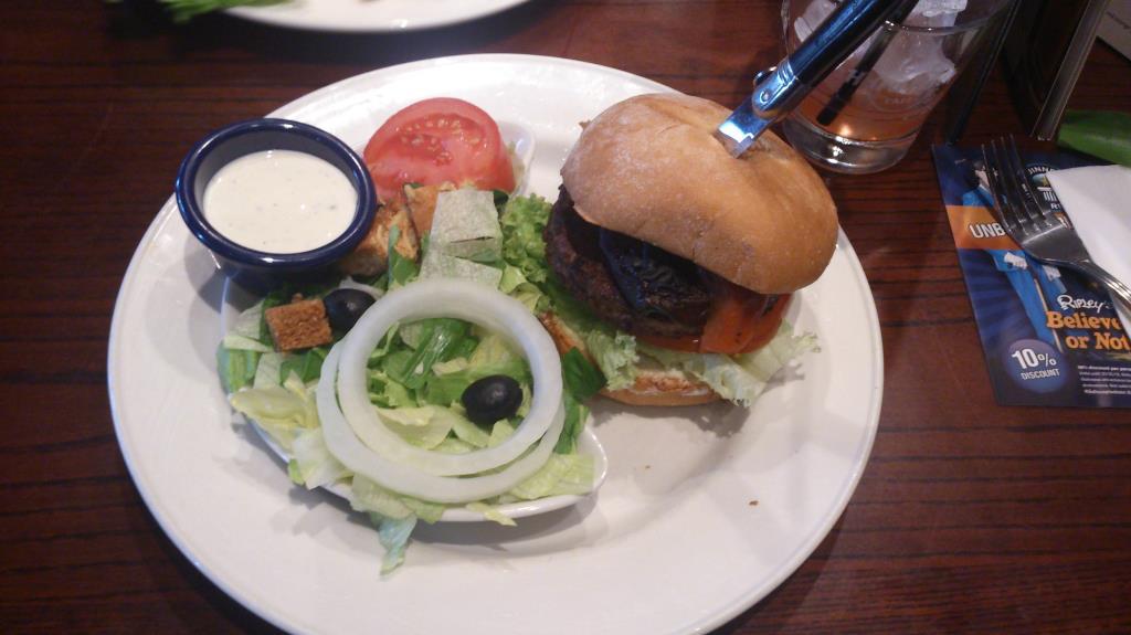Hard Rick Café Köpenhamn - Veg Burger