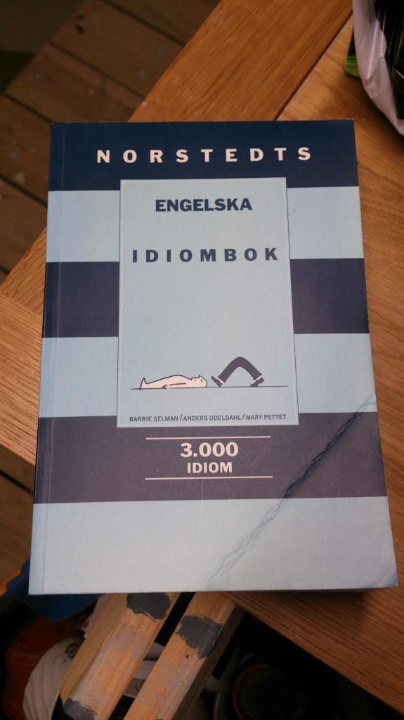 Engelska Idiomordbok