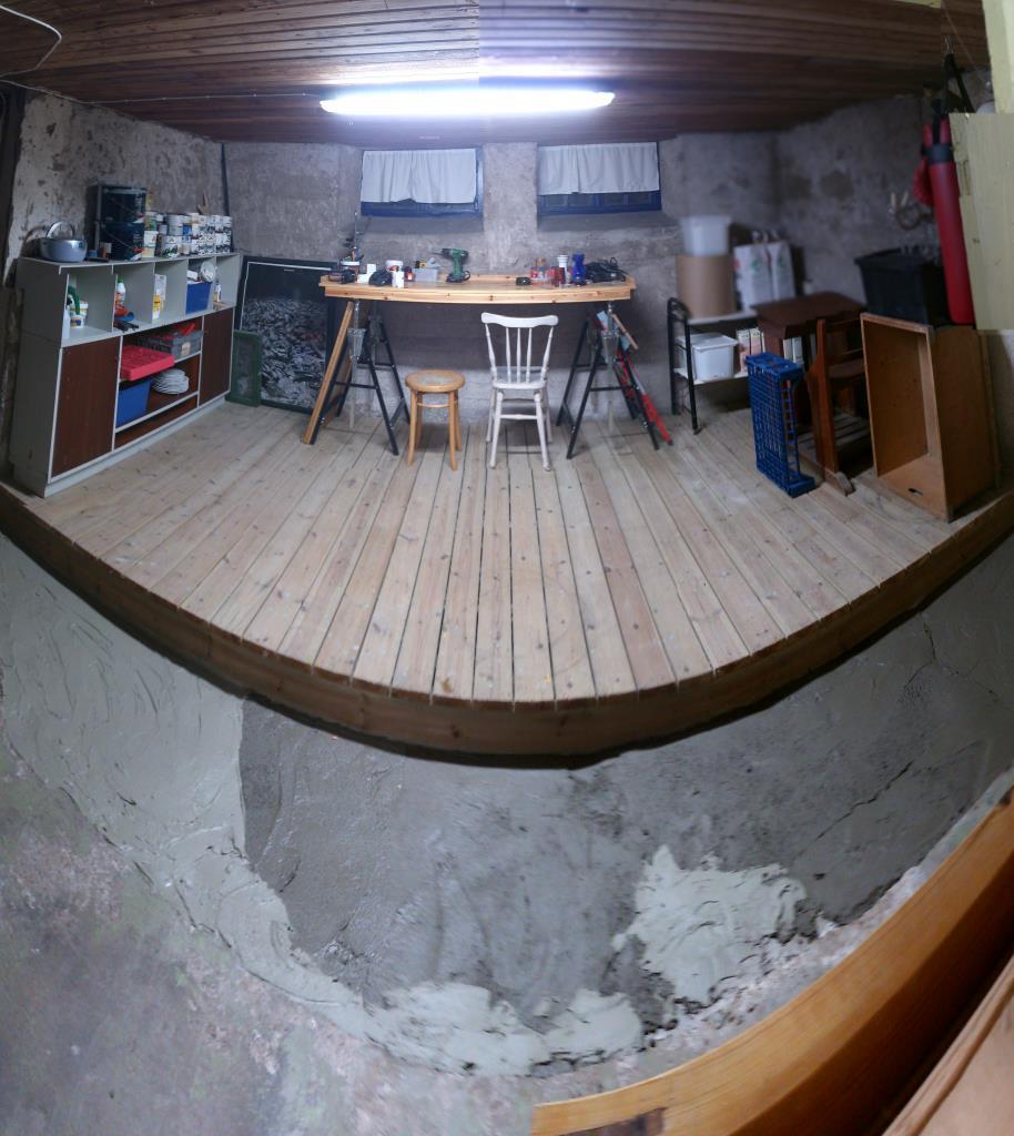 Städad källare