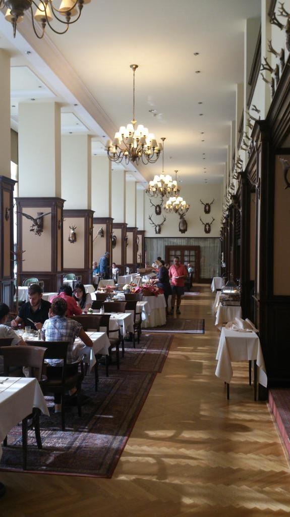 Frukostsalen - Hotel Apollo i Bratislava