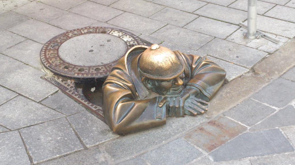 Man at Work - Bratislava