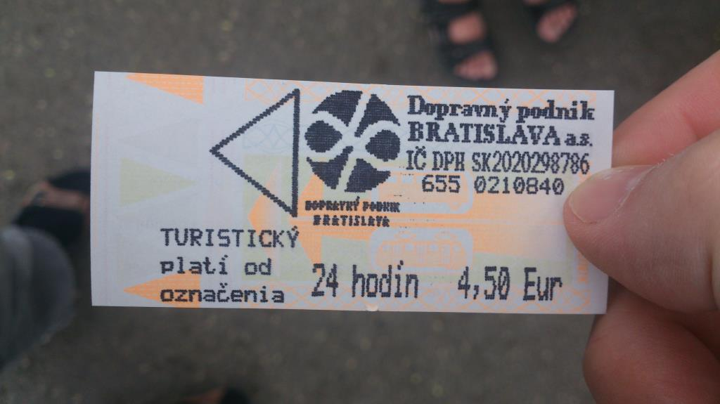 Bussbiljett - Bratislava