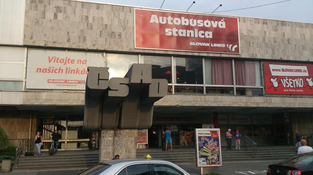 CSAD - Autobusova Atanica - Bratislava