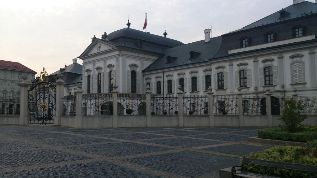 Presidentpalatset - Bratislava